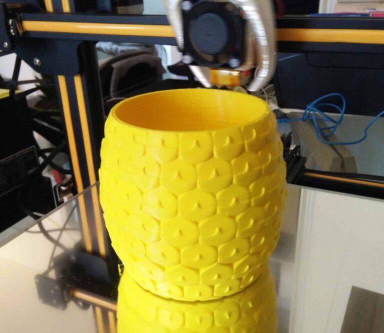 aloe planter - 3D printed
