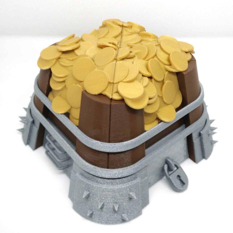 Clash of Clans gold storage piggybank