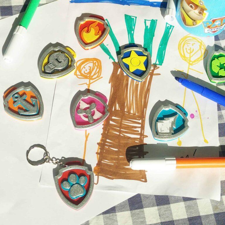 9 Paw Patrol badges for children
