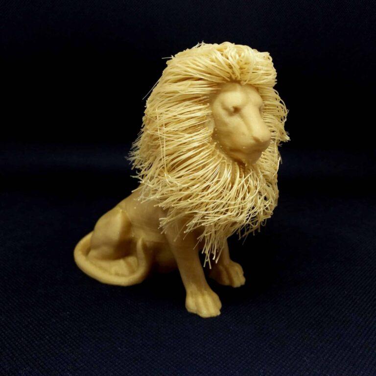 3D Printed decorative lion